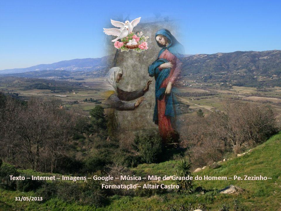 O CLIMA QUE RODEIA o episódio da Visitação é de alegria; o mistério da Visitação é um mistério jubiloso. João Batista exulta de alegria no seio de San