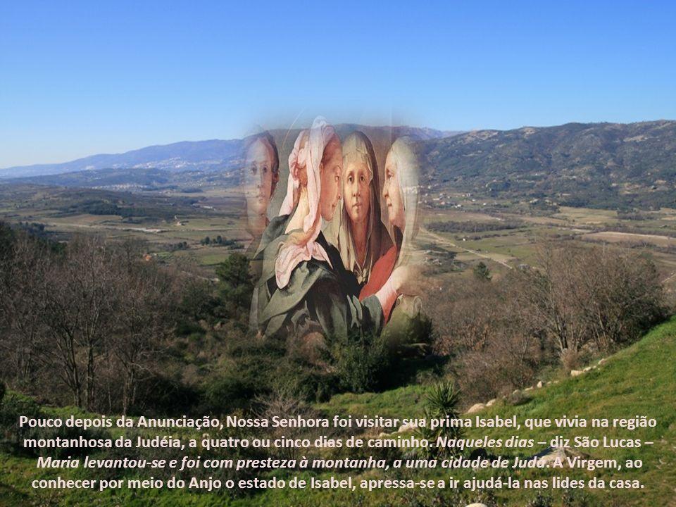 Esta festa da Virgem, com a qual terminamos o mês que lhe é dedicado, manifesta-nos a sua ação medianeira, o seu espírito de serviço e a sua profunda