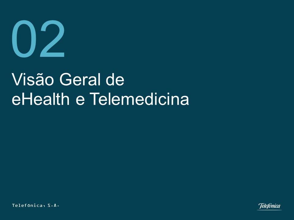 Telefónica, S.A. 12 Visão Geral de eHealth e Telemedicina 02 Telefónica, S.A.