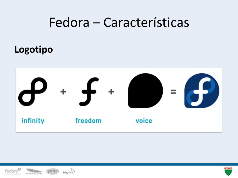 Fedora – Características Logotipo 10