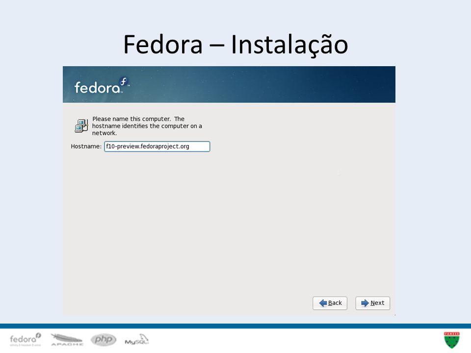Fedora – Instalação 13