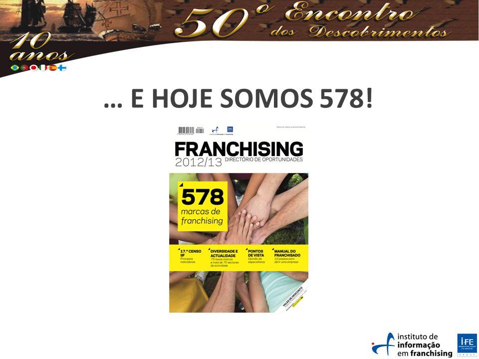 … E HOJE SOMOS 578!