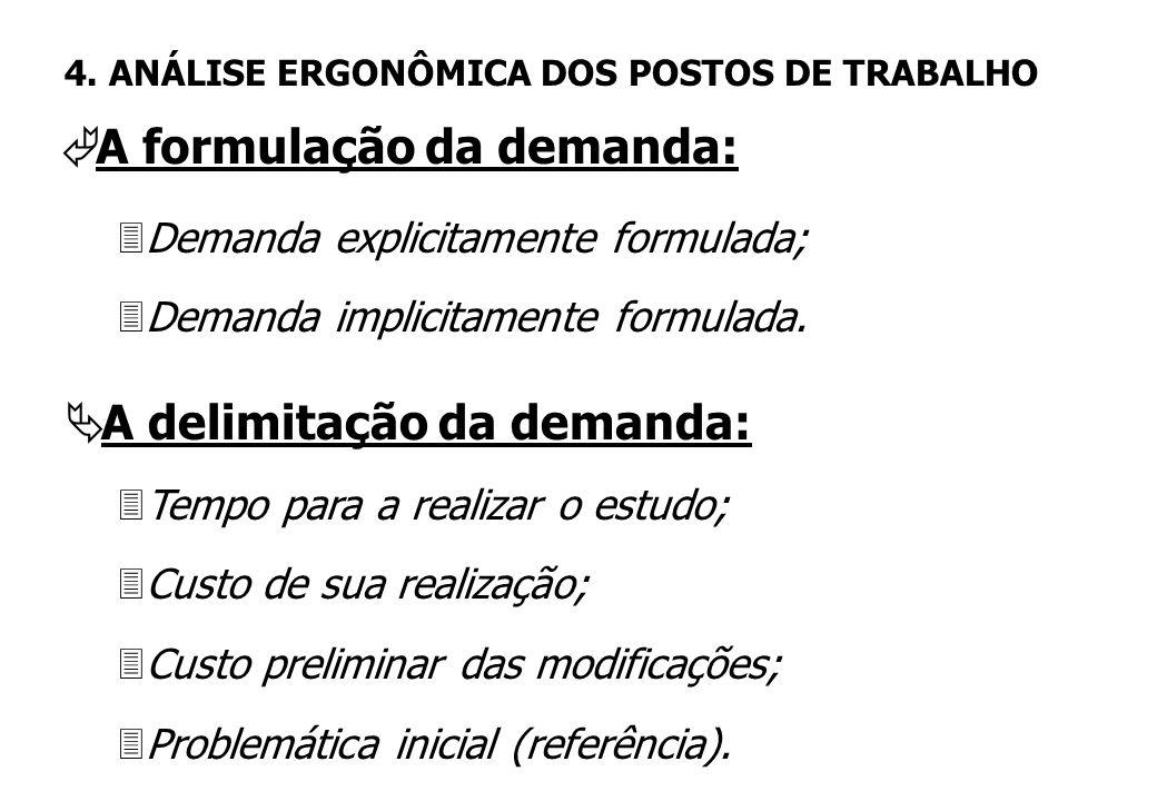 3Recomendações ergonômicas para um novo posto; 3Resolução de problemas ergonômicos em postos de trabalho já implantados e/ou em funcionamento; 3Identi