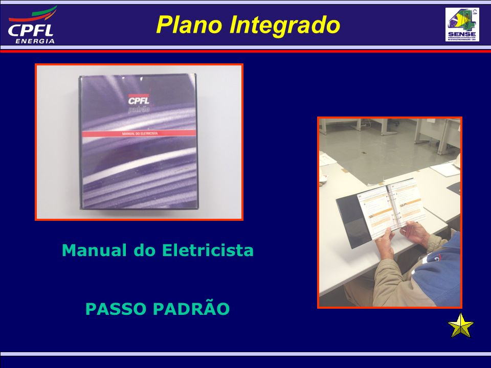 Plano Integrado Manual do Eletricista PASSO PADRÃO