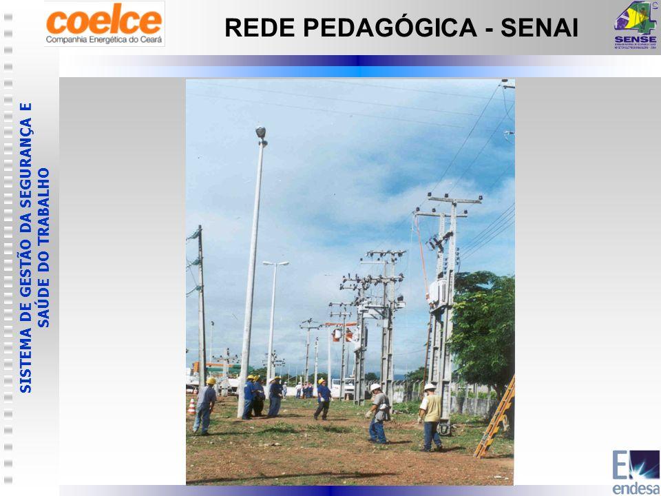 SISTEMA DE GESTÃO DA SEGURANÇA E SAÚDE DO TRABALHO REDE PEDAGÓGICA - SENAI