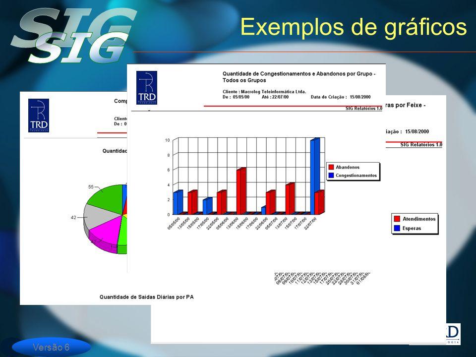 Versão 6 Exemplos de gráficos