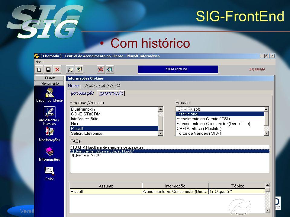 Versão 6 SIG-FrontEnd Com histórico SIG-FrontEnd