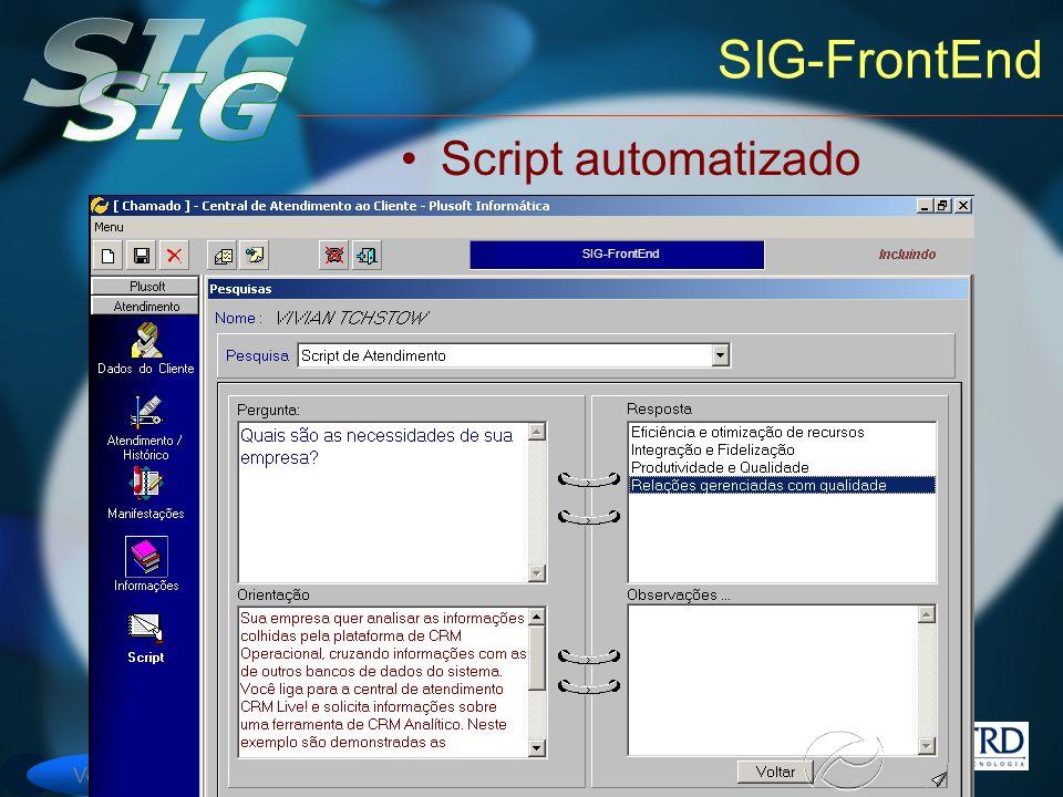 Versão 6 SIG-FrontEnd Script automatizado SIG-FrontEnd