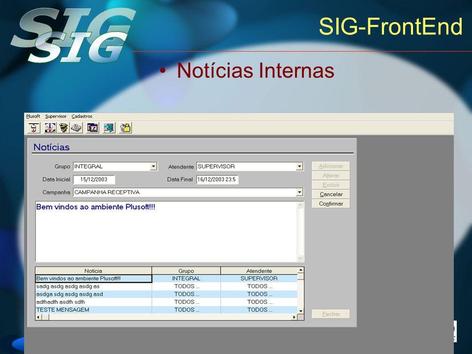 Versão 6 SIG-FrontEnd Notícias Internas