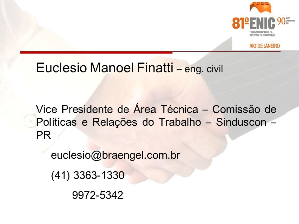 Euclesio Manoel Finatti – eng.