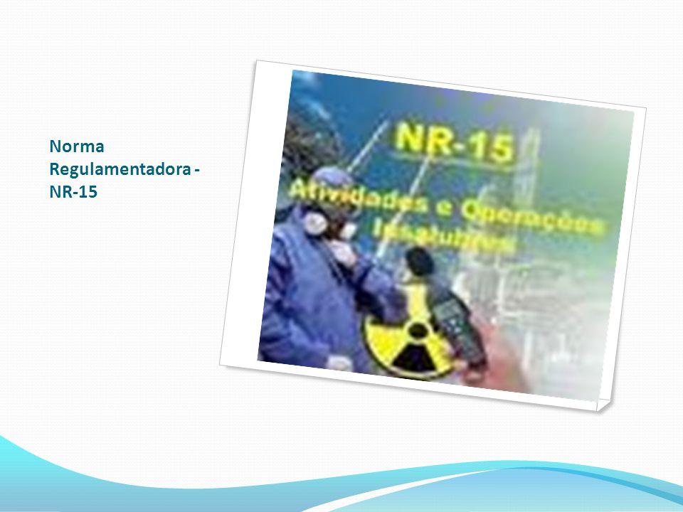 Norma Regulamentadora - NR-15