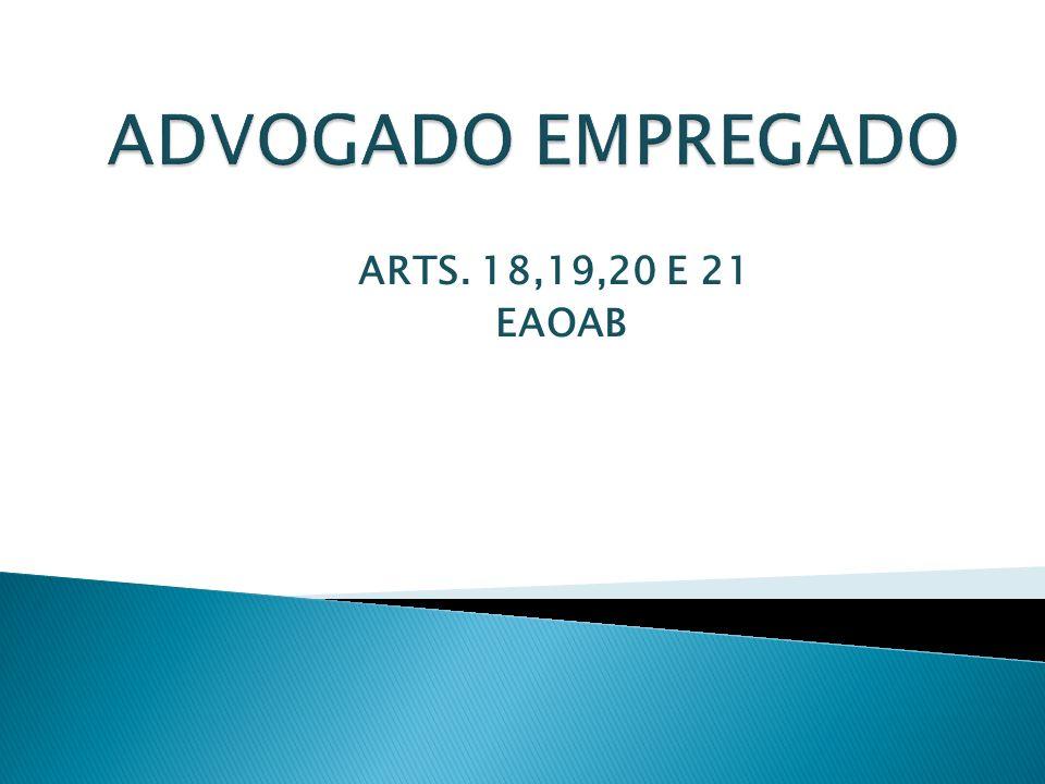 ARTS. 18,19,20 E 21 EAOAB