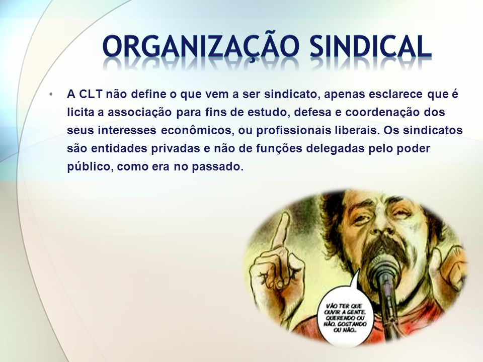 São entidades sindicais de grau superior organizadas nos Estados-membros.