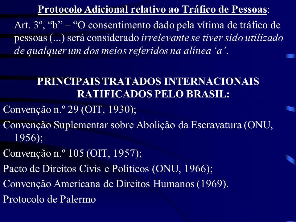 Protocolo Adicional relativo ao Tráfico de Pessoas: Art.
