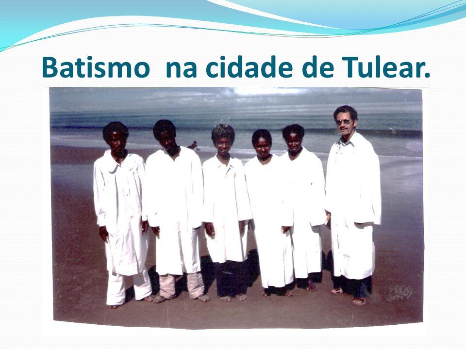 Batismo na cidade de Tulear.