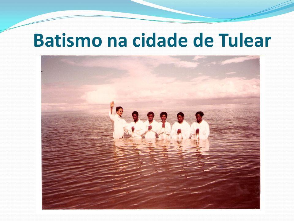 Batismo na cidade de Tulear