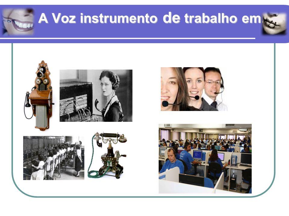 A Voz instrumento de trabalho em...