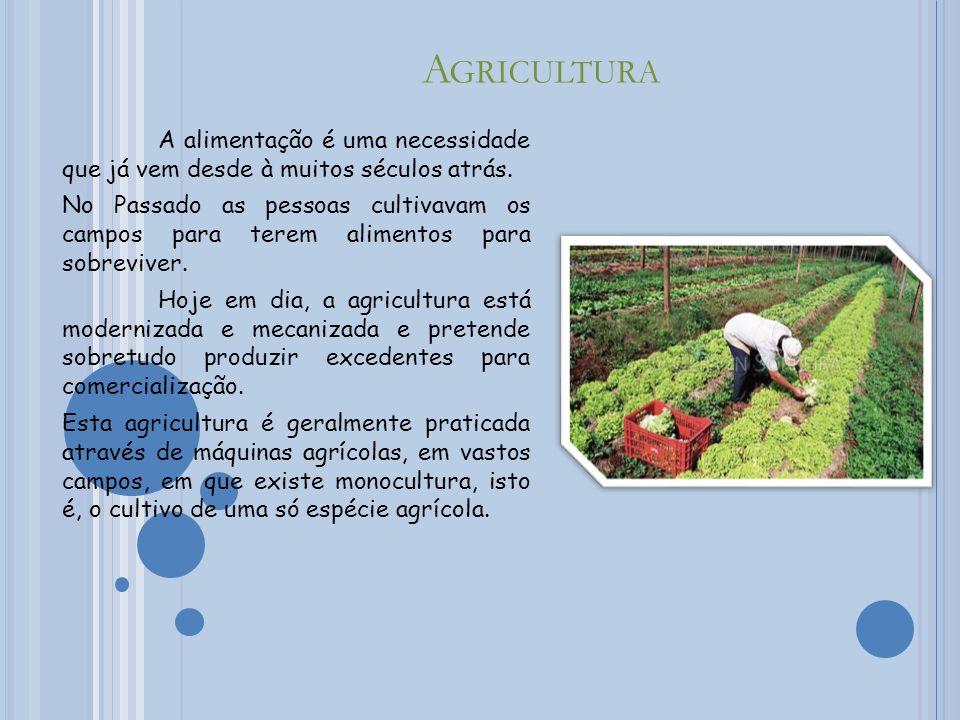 P ECUÁRIA A Pecuária é a arte ou o conjunto de processos técnicos na domesticação, produção e criação de animais, com fins económicos.