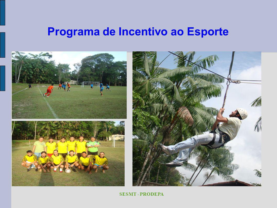 Programa de Incentivo ao Esporte SESMT - PRODEPA