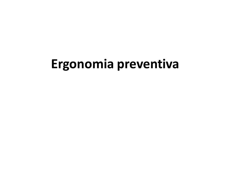 O que é que se pode entender por Ergonomia preventiva.