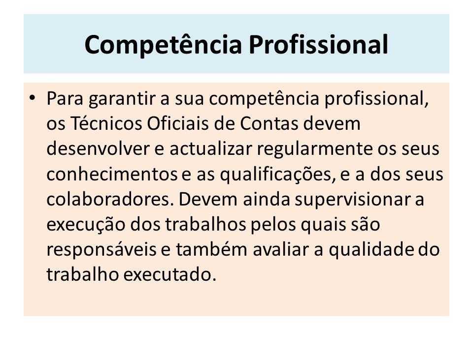 Comparação entre códigos Todas as profissões tem de seguir regras no exercício das suas funções.