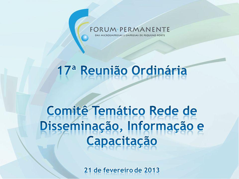 Ação 8 – Uniformização das estatísticas oficiais sobre MPE AtividadePorqueComoQuandoStatus Garantir a obrigatoriedade de apresentação das estatísticas sobre MPE, pelas instituições oficiais, segundo critérios de porte da LEI 123 de 2006 1.Permitir uma compreensão mais integrada e uniforme das MPEs.