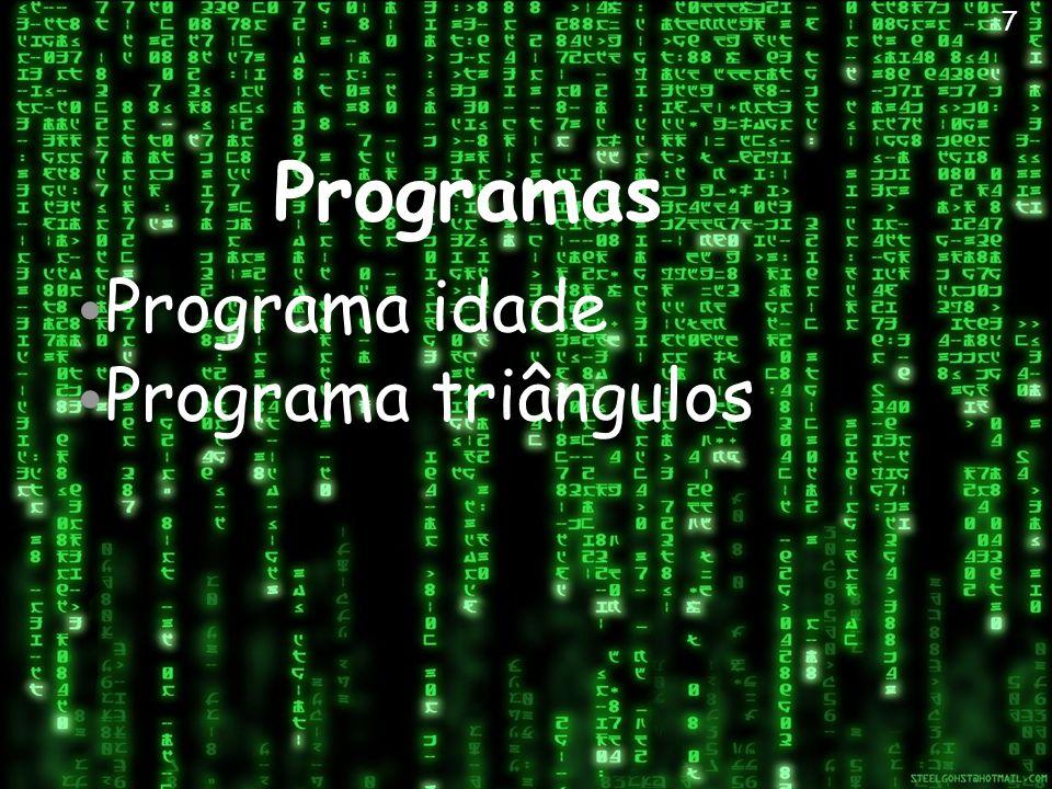 Programas Programa idade Programa triângulos 7