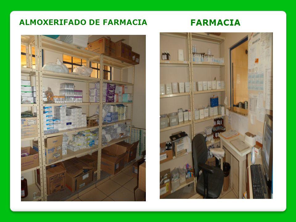 ALMOXERIFADO DE FARMACIA FARMACIA