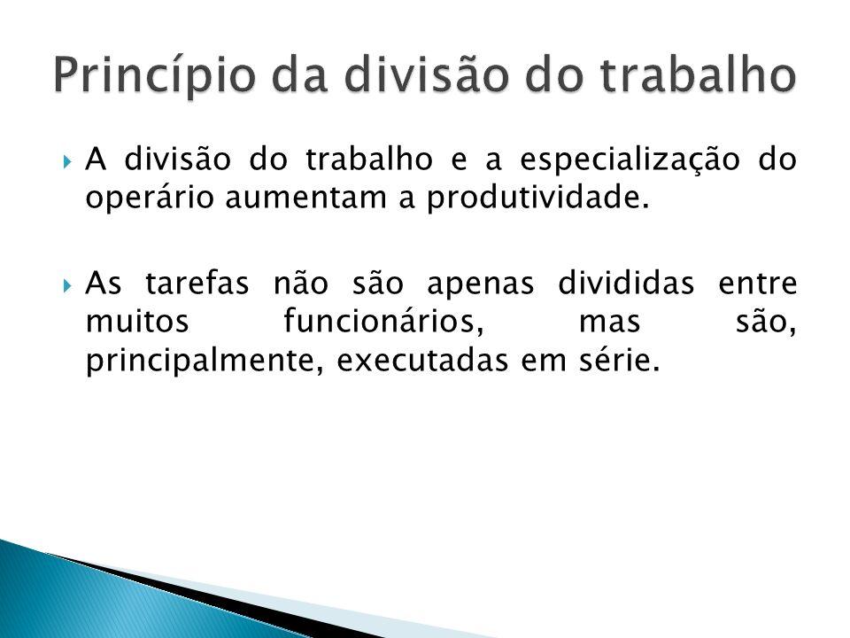Tarefa: toda atividade executada por uma pessoa no seu trabalho dentro da organização.