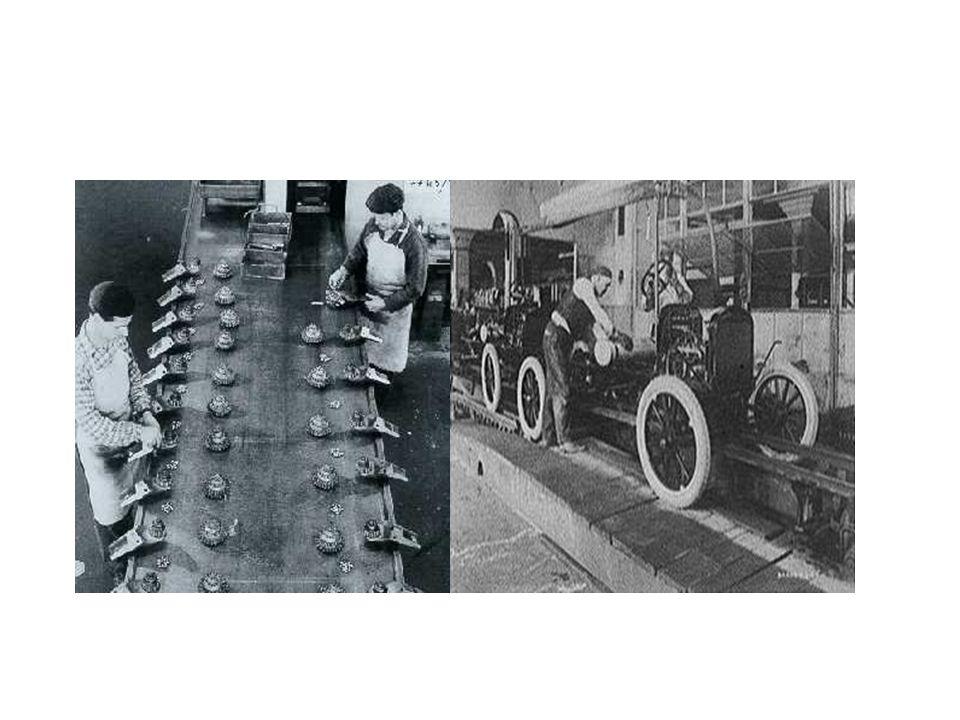 Toyotismo O toyotismo tinha como elemento principal, a flexibilização da produção.