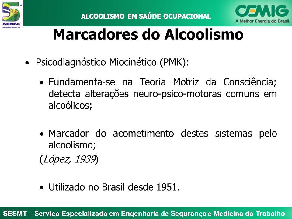 SESMT – Serviço Especializado em Engenharia de Segurança e Medicina do Trabalho ALCOOLISMO EM SAÚDE OCUPACIONAL ALCOOLISMO EM SAÚDE OCUPACIONAL Tratamento do Alcoolismo Abordagem terapêutica complexa e controversa.