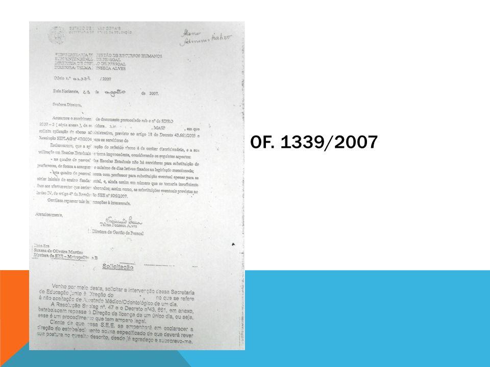 OF. 1339/2007