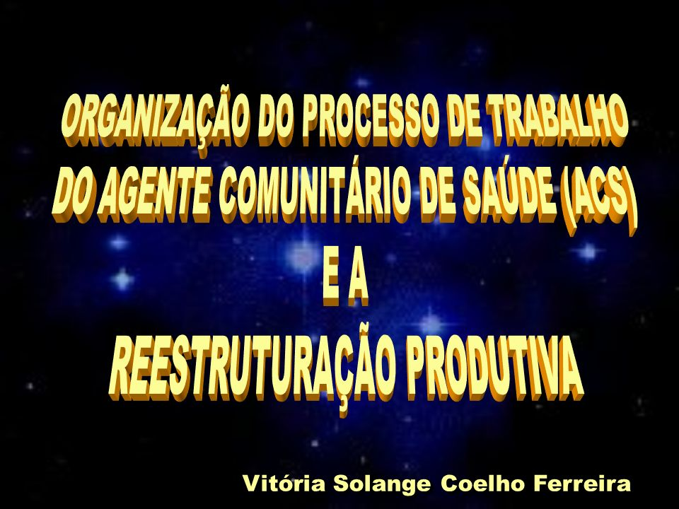 Vitória Solange Coelho Ferreira