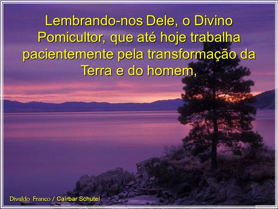 O trabalho é mensagem de Deus e a paciência é virtude dos anjos. Divaldo Franco / Caírbar Schutel