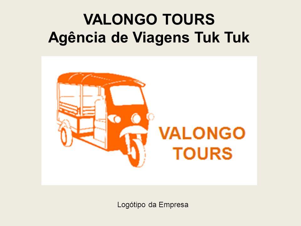 VALONGO TOURS Agência de Viagens Tuk Tuk Logótipo da Empresa