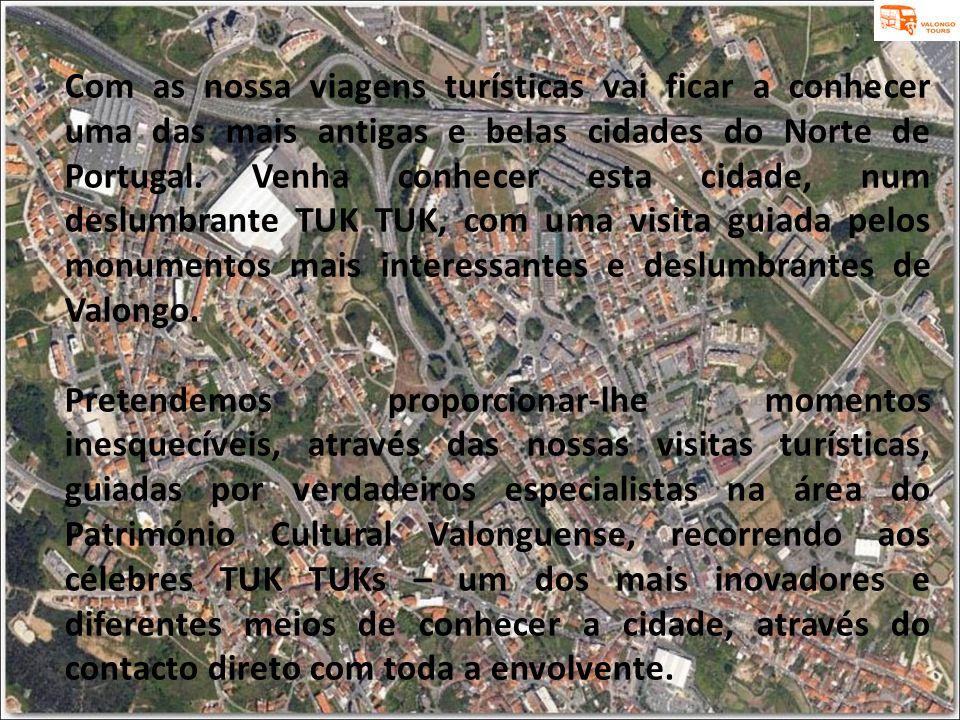 Com as nossa viagens turísticas vai ficar a conhecer uma das mais antigas e belas cidades do Norte de Portugal. Venha conhecer esta cidade, num deslum