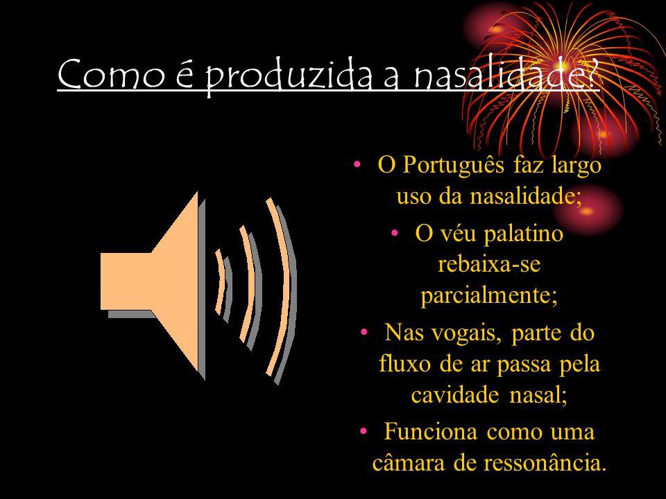 Número de fonemas Inglês: 11 fonemas vogais 24 fonemas consonantais Português: 7 fonemas vogais (não nasais) 19 fonemas consonantais