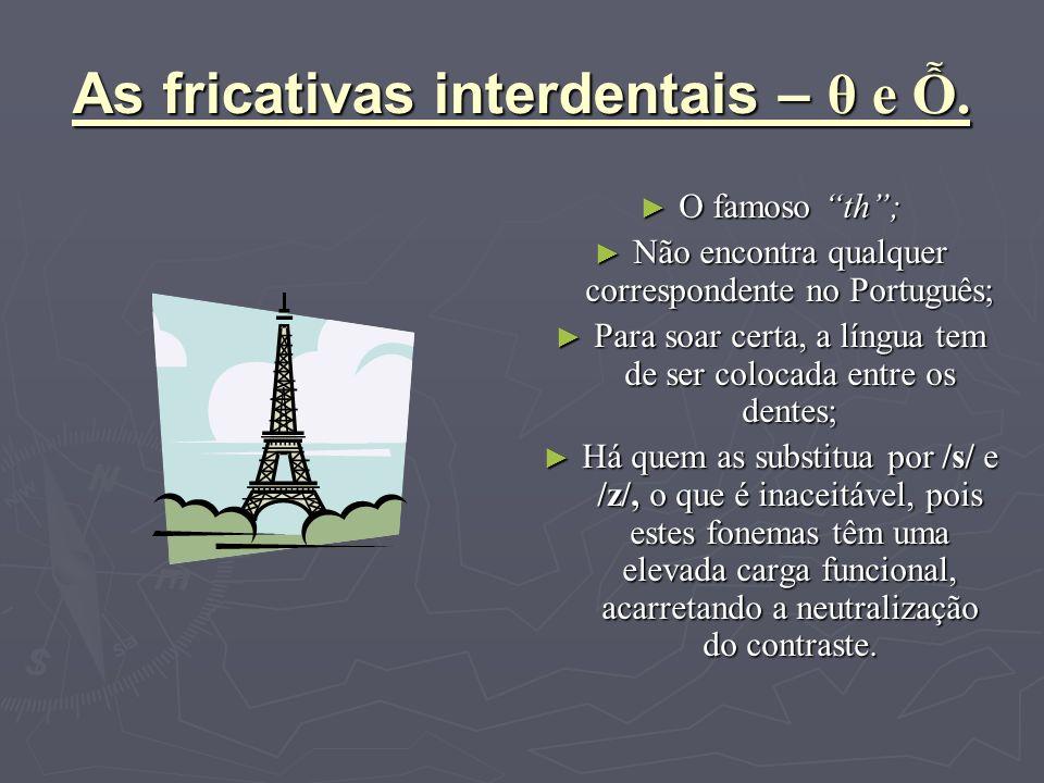 Flapping Rule Fenómeno que envolve as oclusivas alveolares /t/ e /d/ Regra que explica o enfraquecimento dos fonemas /t/ e /d/ em /D/ ( /r/ em Portugu