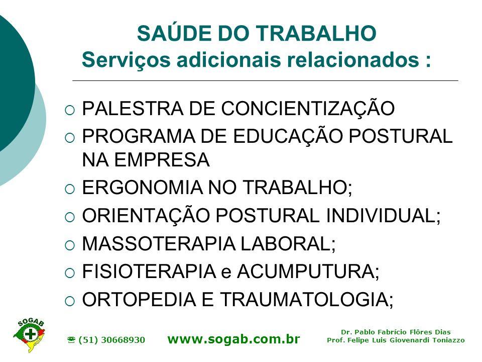 Dr.Pablo Fabrício Flôres Dias Prof.
