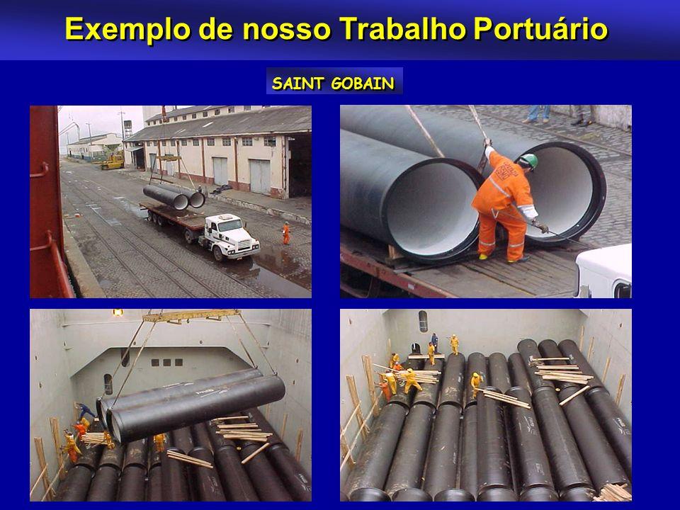 Exemplo de nosso Trabalho Portuário SAINT GOBAIN
