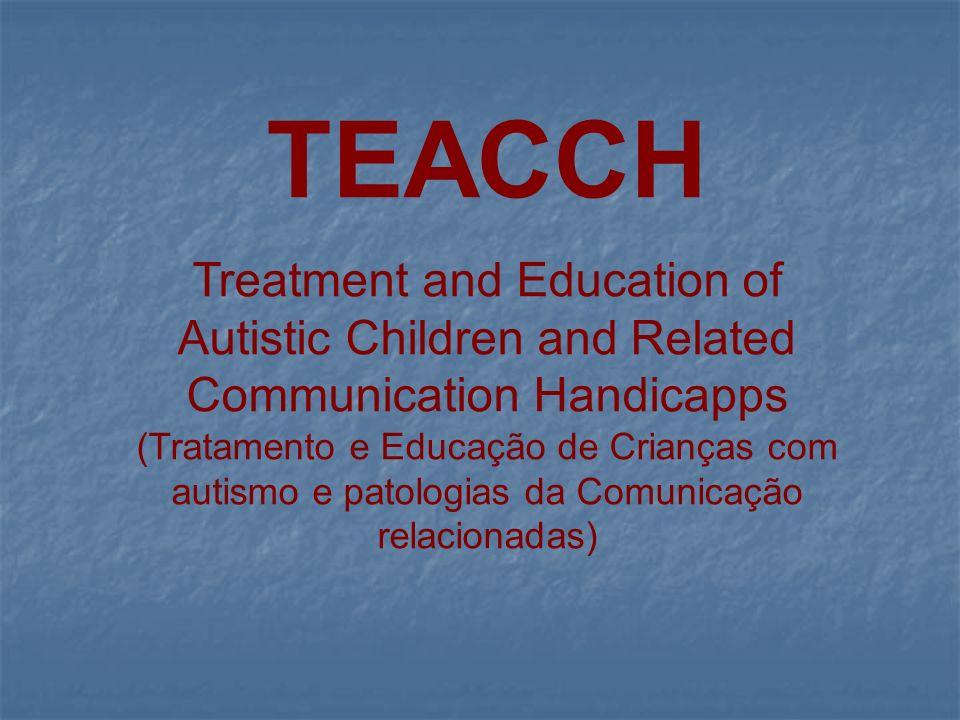 Princípios Orientadores da Metodologia TEACCH Prof.