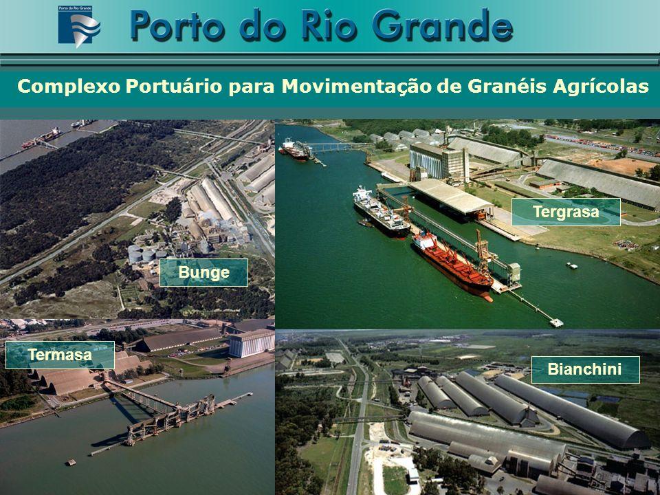 Tergrasa Termasa Complexo Portuário para Movimentação de Granéis Agrícolas Bianchini Bunge
