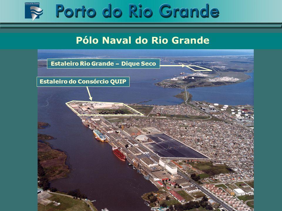 Pólo Naval do Rio Grande Estaleiro Rio Grande – Dique Seco Estaleiro do Consórcio QUIP