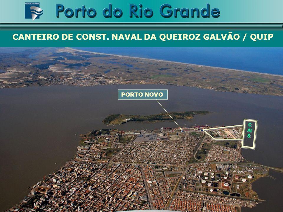 C AI S CANTEIRO DE CONST. NAVAL DA QUEIROZ GALVÃO / QUIP PORTO NOVO