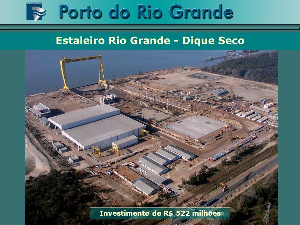 Investimento de R$ 522 milhões Estaleiro Rio Grande - Dique Seco