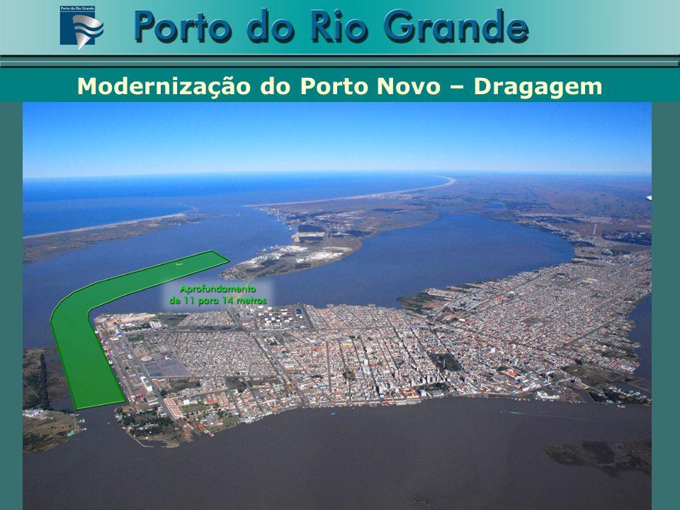 Modernização do Porto Novo – Dragagem