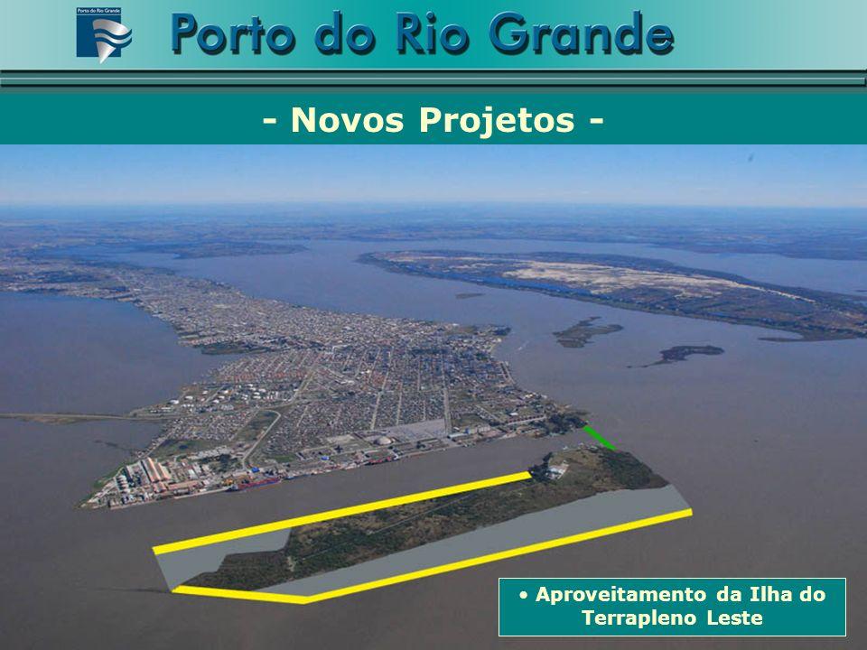 Aproveitamento da Ilha do Terrapleno Leste - Novos Projetos -