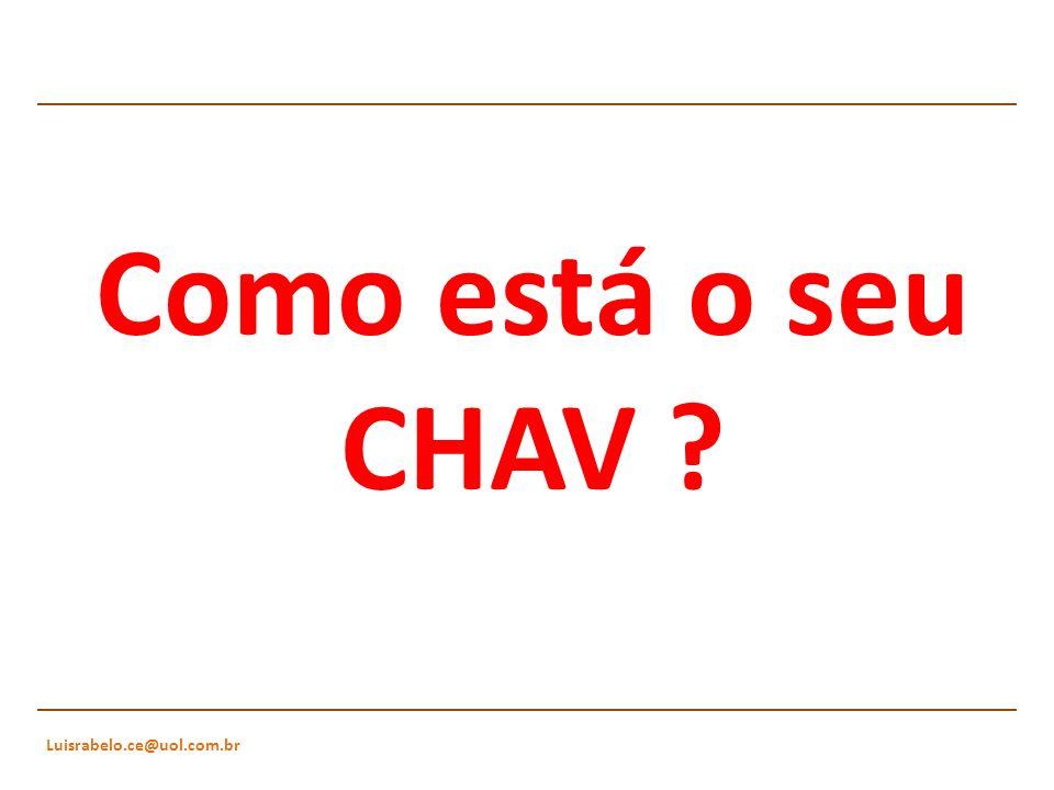 Luisrabelo.ce@uol.com.br Como está o seu CHAV ?