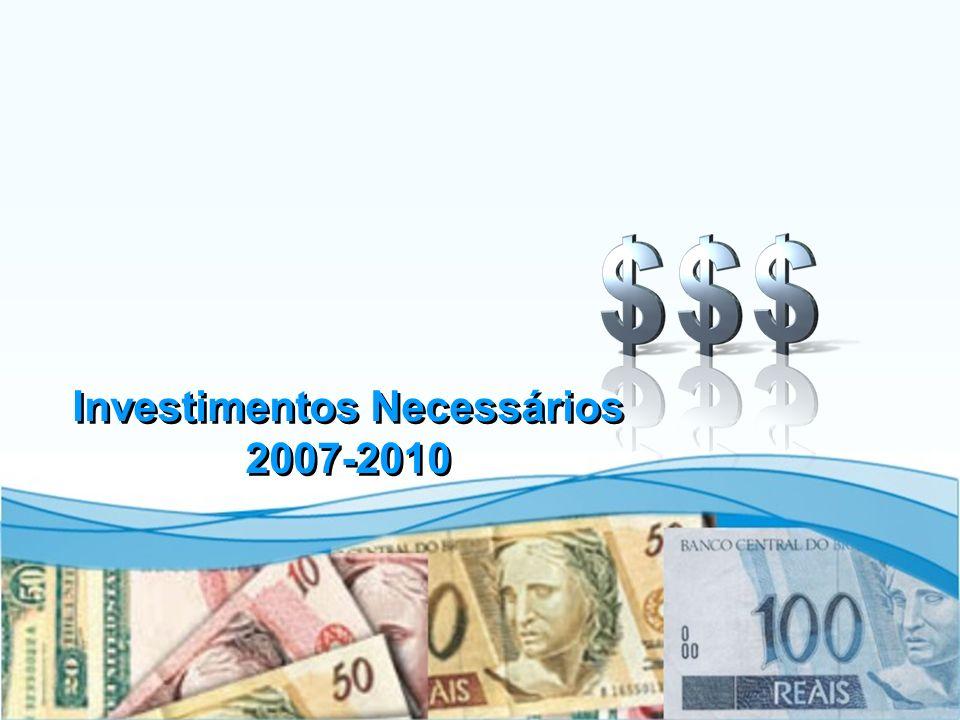 40 Investimentos Necessários 2007-2010