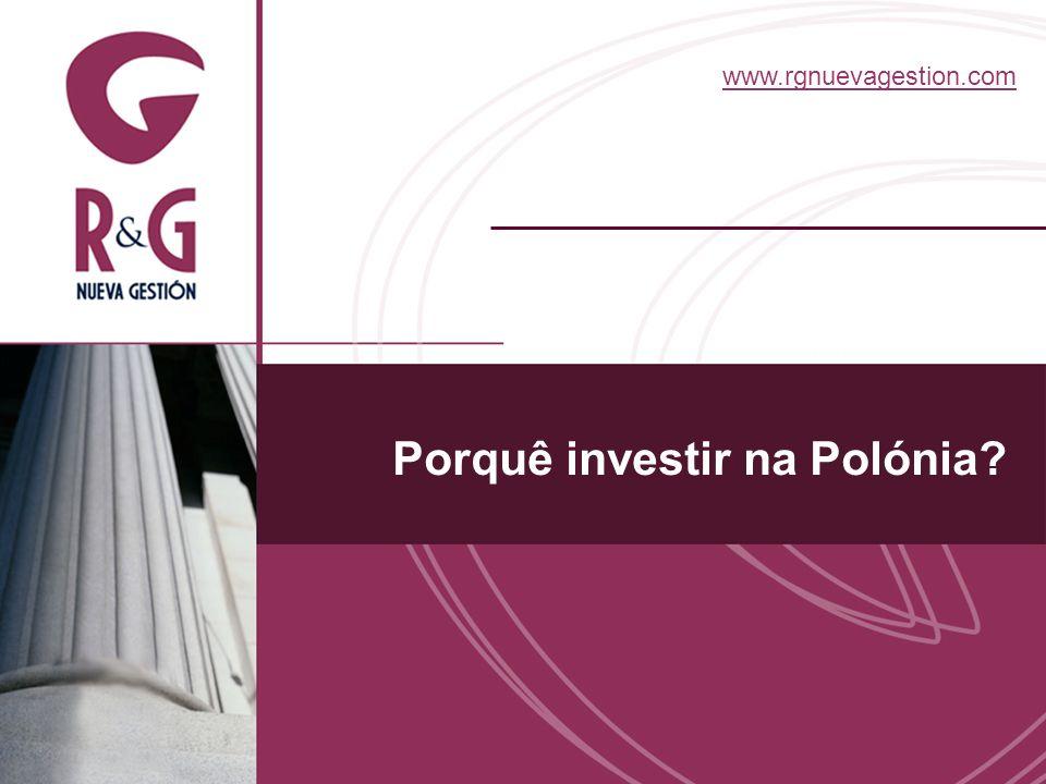 Opinião das grandes consultoras A Polónia é, a nível mundial, o quinto mercado mais atractivo para os investidores estrangeiros Ernst & Young 80% dos investidores estrangeiros na Polónia estão satisfeitos e dispostos a investir novamente no país KPMG A Polónia é o quinto país que maior confiança transmite aos investidores estrangeiros AT Kearney